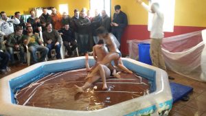 Madrid Mud Wrestling