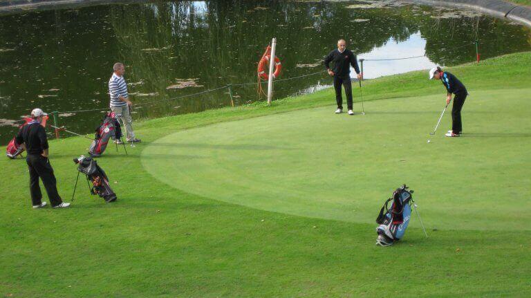 Short Course Golf Match