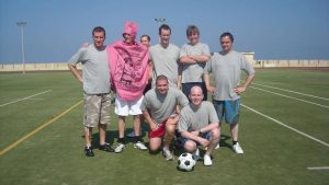 Magaluf Football Match