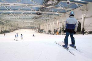 Ski en Salle au cœur de la ville