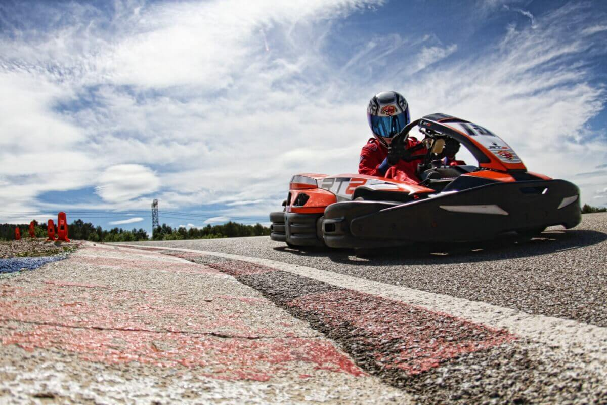 Karts in Barcelona outdoor arena | Book at lower rates than UK agencies