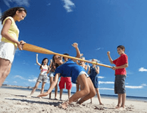Crazy Beach Games