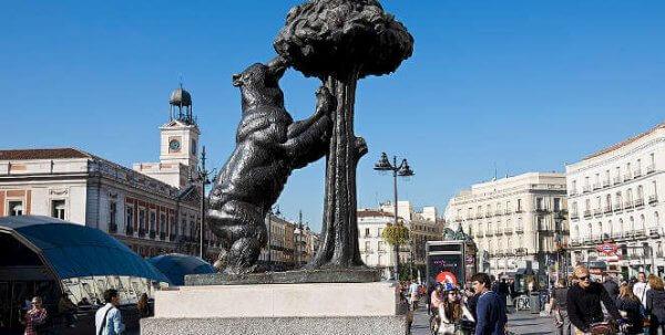 Madrid di giorno