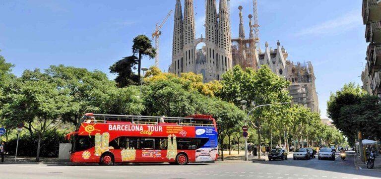 Visite touristique en bus
