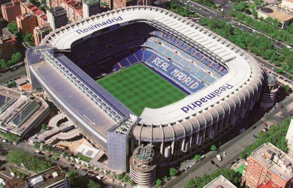 Tour dello stadio Real Madrid