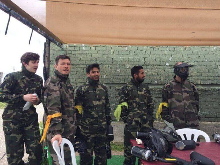 Madrid Paintball Games