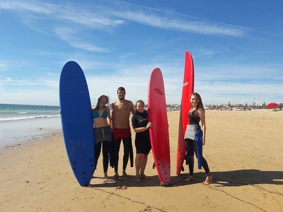 Lezione di surf