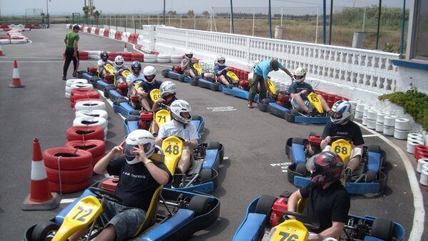 Karting en plein air Valence