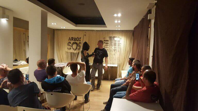 Valencia Stag Dinner & Show