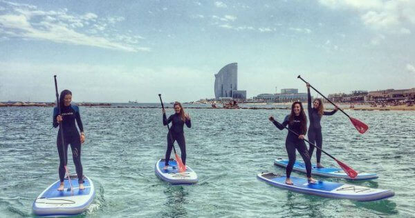 Stand Up Paddle Barcelone