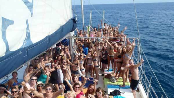 Barcelona Boat Party