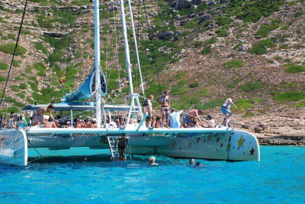 Croisière privée en catamaran Palma