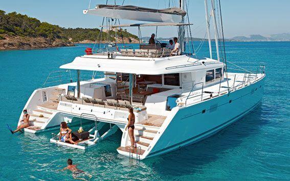 Croisière privée en catamaran