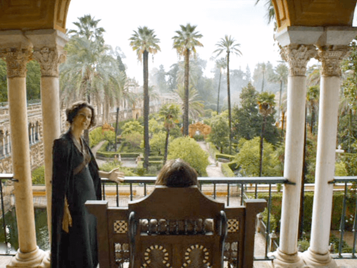Visita di Siviglia Game of Thrones