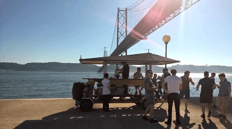 Beer Bike Lisbona