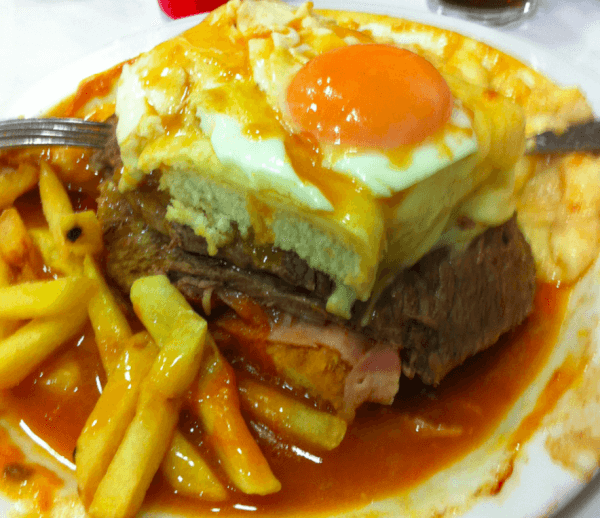 Francesinha Porto's toastie on steroids