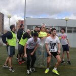 Bubble football n madrid in all weather conditions
