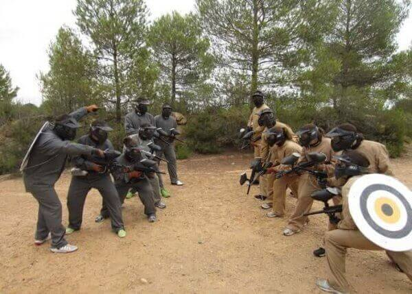 Valencia Paintballing
