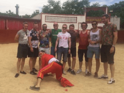 Benidorm bullfight | The Matador stag