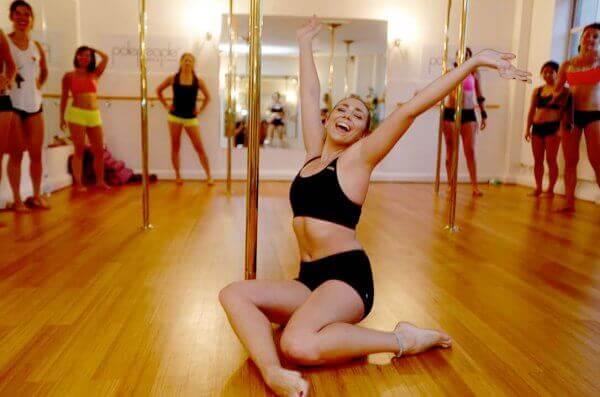 Lezione di Pole Dance