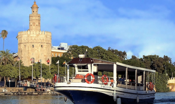 Seville Private Boat Hire 30 pax